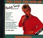 CD(G) PLAY BACK POCKET SONGS HITS OF MADONNA VOL.01 (livret paroles inclus)