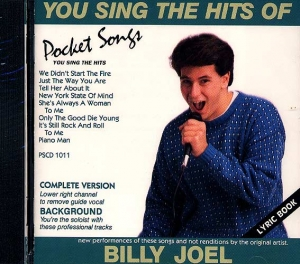 CD PLAY BACK HITS OF BILLY JOEL VOL.01 (Livret paroles inclus)