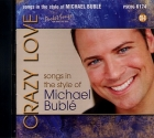 CD(G) POCKET SONGS MICHAEL BUBLE ''Crazy Love'' (Livret paroles inclus)