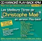 CD KARAOKE PLAY-BACK KPM VOL. 23 ''Christophe Maé''