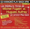 CD KARAOKE PLAY-BACK KPM VOL. 27 ''Michel Fugain & Hugues Aufray''