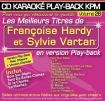 CD KARAOKE PLAY-BACK KPM VOL. 26 ''Françoise Hardy & Sylvie Vartan''