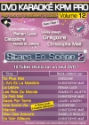 DVD KARAOKE KPM PRO VOL. 12 ''Stars En Scène 2'' (All)