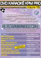 DVD KARAOKE KPM PRO VOL. 13 ''Stars En Scène 3'' (All)