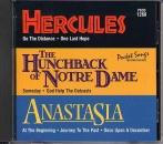 CD PLAY BACK POCKET SONGS DISNEY'S BROADWAY : BOSSU DE NOTRE DAME, HERCULES & ANASTASIA
