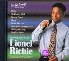 CD PLAY BACK POCKET SONGS LIONEL RICHIE (livret paroles inclus)