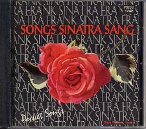 CD(G) PLAY BACK POCKET SONGS SONGS SINATRA SANG