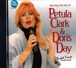 CD PLAY BACK POCKET SONGS PETULA CLARCK & DORIS DAY (livret paroles inclus)