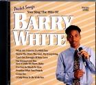 CD(G) PLAY BACK POCKET SONGS HITS OF BARRY WHITE (livret paroles inclus)