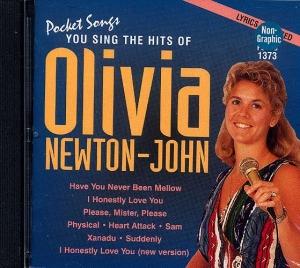 CD PLAY BACK POCKET SONGS HITS OF OLIVIA NEWTON-JOHN (livret paroles inclus)