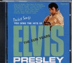 CD PLAY BACK POCKET SONGS ELVIS PRESLEY - THE SUN YEARS (livret paroles inclus)