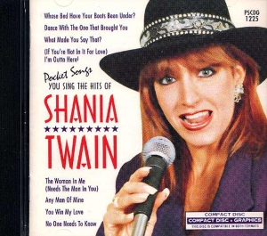 CD(G) PLAY BACK POCKET SONGS SHANIA TWAIN VOL.01