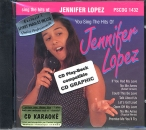 CD(G) PLAY BACK POCKET SONGS JENNIFER LOPEZ (livret paroles inclus)