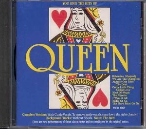 CD(G) PLAY BACK POCKET SONGS HITS OF QUEEN (livret paroles inclus)