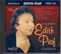 CD(G) PLAY BACK POCKET SONGS EDITH PIAF CLASSICS (livret paroles inclus)