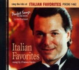 CD(G) PLAY BACK POCKET SONGS ITALIAN FAVORITES (livret paroles inclus)