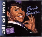 CD(G) PLAY BACK POCKET SONGS COFFRET SONGS SINATRA SANG (4CD) (livret paroles inclus)