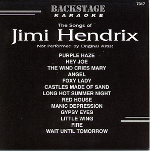 CD(G) JIMMY HENDRIX 13 TITRES