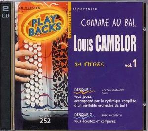 CD PLAY BACK LOUIS CAMBLOR