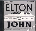CD(G) PLAY BACK POCKET SONGS HITS OF ELTON JOHN (livret paroles inclus)
