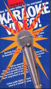 VIDÉO VHS KARAOKE ANGLAIS HITS THE 90'S VOL.05