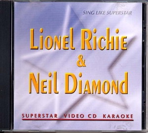 VidéoCD SUPERSTAR LIONEL RICHIE & NEIL DIAMOND