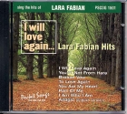 CD PLAY BACK POCKET SONGS LARA FABIAN HITS (livret paroles inclus)