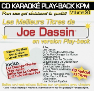 CD KARAOKE PLAY-BACK KPM VOL. 30 ''Joe Dassin''