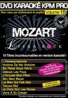 DVD KARAOKE KPM PRO VOL. 15 ''Mozart L'Opéra Rock'' (All)