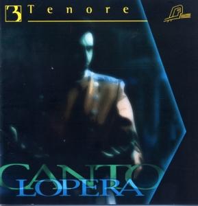 CD PLAY BACK CANTOLOPERA TENOR ARIAS VOL. 03