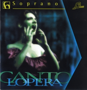 CD PLAY BACK CANTOLOPERA SOPRANO ARIAS VOL. 06