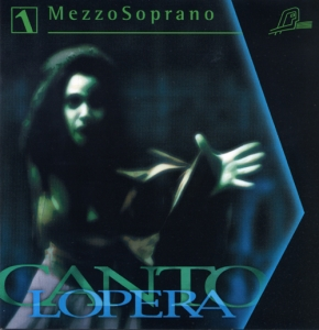 CD PLAY BACK CANTOLOPERA MEZZO SOPRANO ARIAS VOL. 01