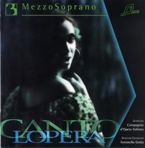 CD PLAY BACK CANTOLOPERA MEZZO SOPRANO ARIAS VOL. 03