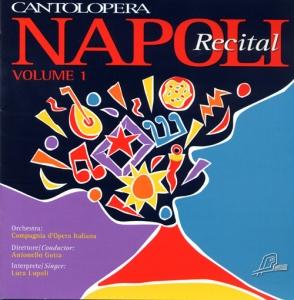 CD PLAY BACK CANTOLOPERA NAPOLI RECITAL VOL. 01