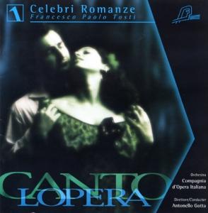 CD PLAY BACK CANTOLOPERA TOSTI'S FAMOUS ROMANCES VOL. 01