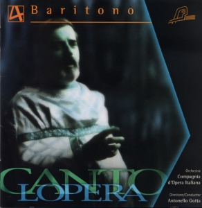 CD PLAY BACK CANTOLOPERA BARITONE ARIAS VOL. 04