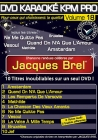 DVD KARAOKE KPM PRO VOL. 18 ''Jacques Brel'' (All)