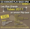 CD KARAOKE PLAY-BACK KPM VOL. 32 ''Tubes 2011''