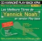 CD KARAOKE PLAY-BACK KPM VOL. 33 ''Yannick Noah''