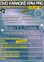 DVD KARAOKE KPM PRO VOL. 19 ''Stars En Scène 4'' (All)