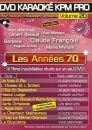 DVD KARAOKÉ KPM PRO VOL. 20 ''Les Années 70'' (All)