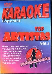 DVD KARAOKE PORTUGAIS TONY CARREIRA VOL. 01
