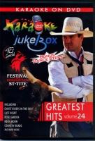 """DVD KARAOKE JUKE BOX Vol.24 """"FESTIVAL WESTERN"""""""