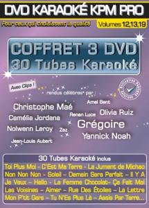 COFFRET 3 DVD KARAOKE KPM PRO ''Stars En Scène 2, 3 & 4'' (All)