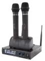 ENSEMBLE 2 MICROPHONES SANS FIL MADBOY U-TUBE 20R RECHARGEABLE + 1 DVD KARAOKÉ KPM OFFERT