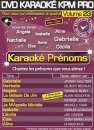 DVD KARAOKE KPM PRO VOL. 23 ''Karaoké Prénoms'' (All)