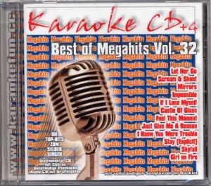 CD(G) KARAOKÉ BEST OF MEGAHITS VOL.32