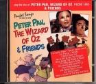 CD(G) PLAY BACK POCKET SONGS PETER PAN, WIZARD OF OZ & FRIENDS (livret paroles inclus)