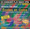 CD KARAOKE PLAY-BACK KPM VOL. 43 ''Ecoles et Colos''