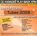 CD KARAOKE PLAY-BACK KPM VOL. 08 ''Tubes 2008''
